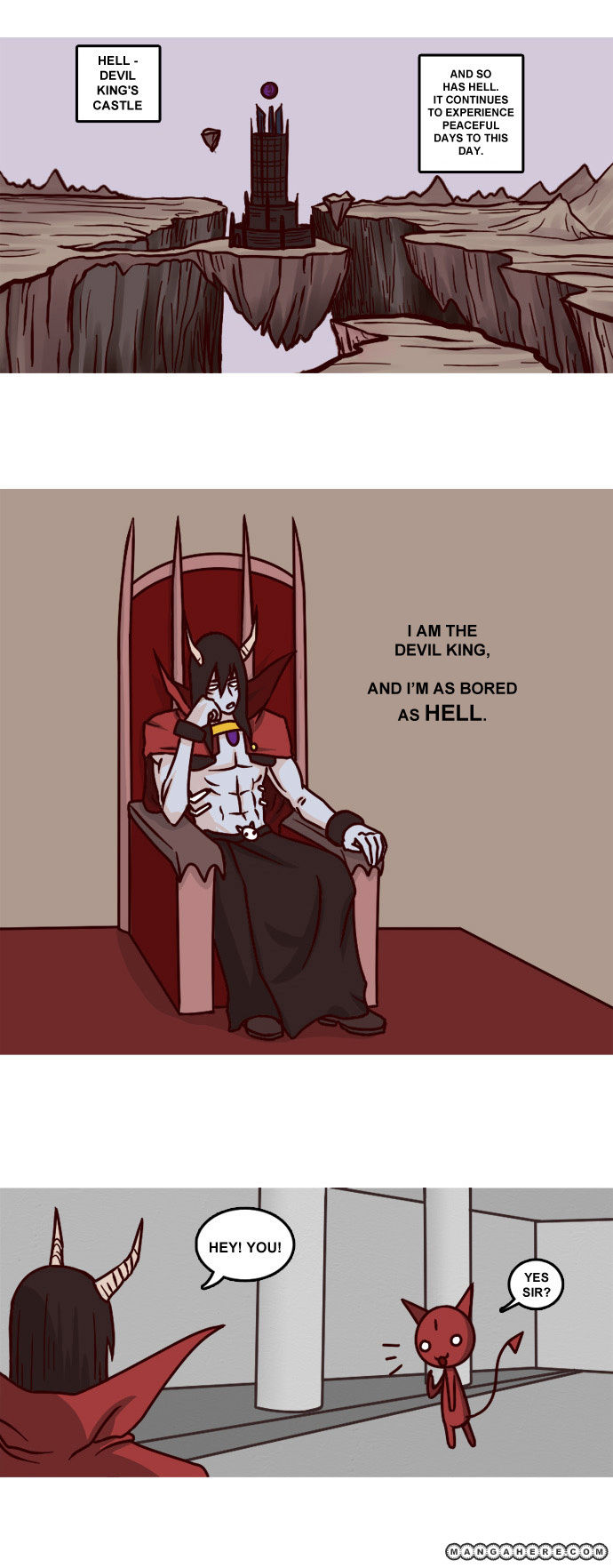 The Devil King Is Bored 0 Page 2