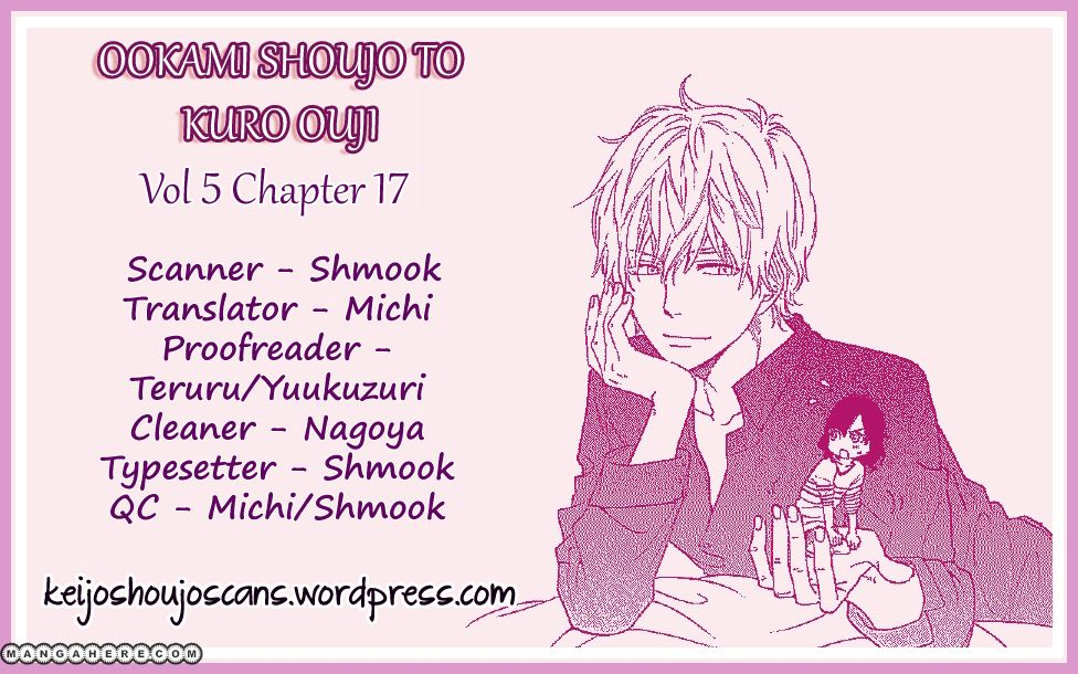 Ookami Shoujo To Kuro Ouji 17 Page 1
