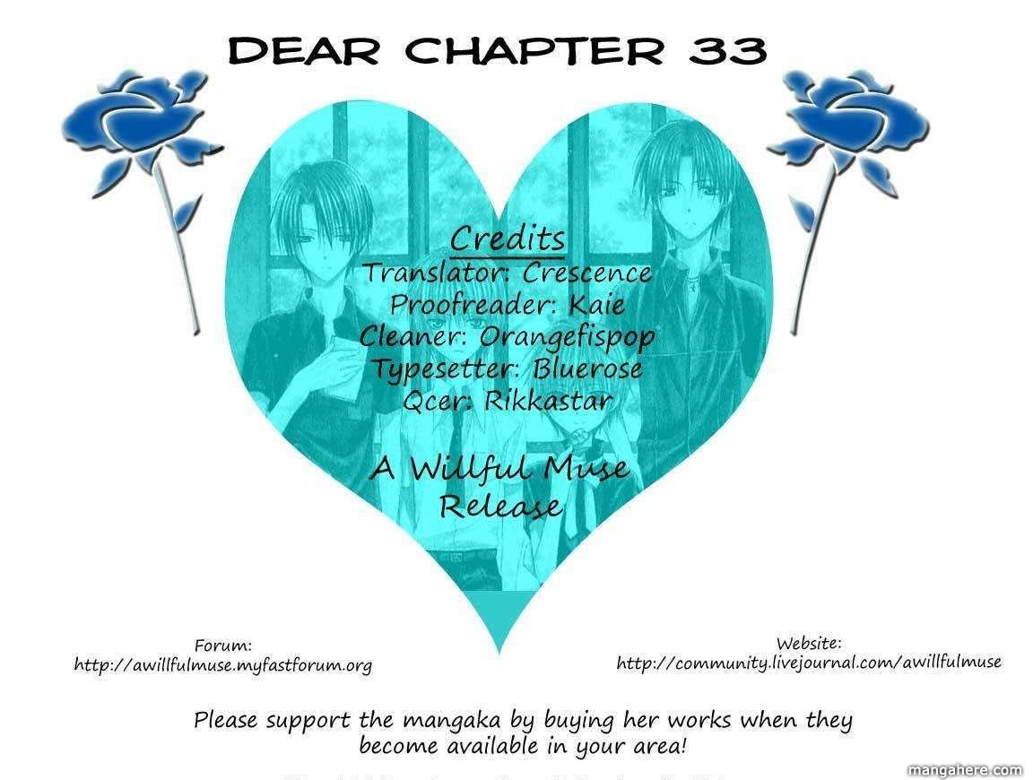 Dear 33 Page 1