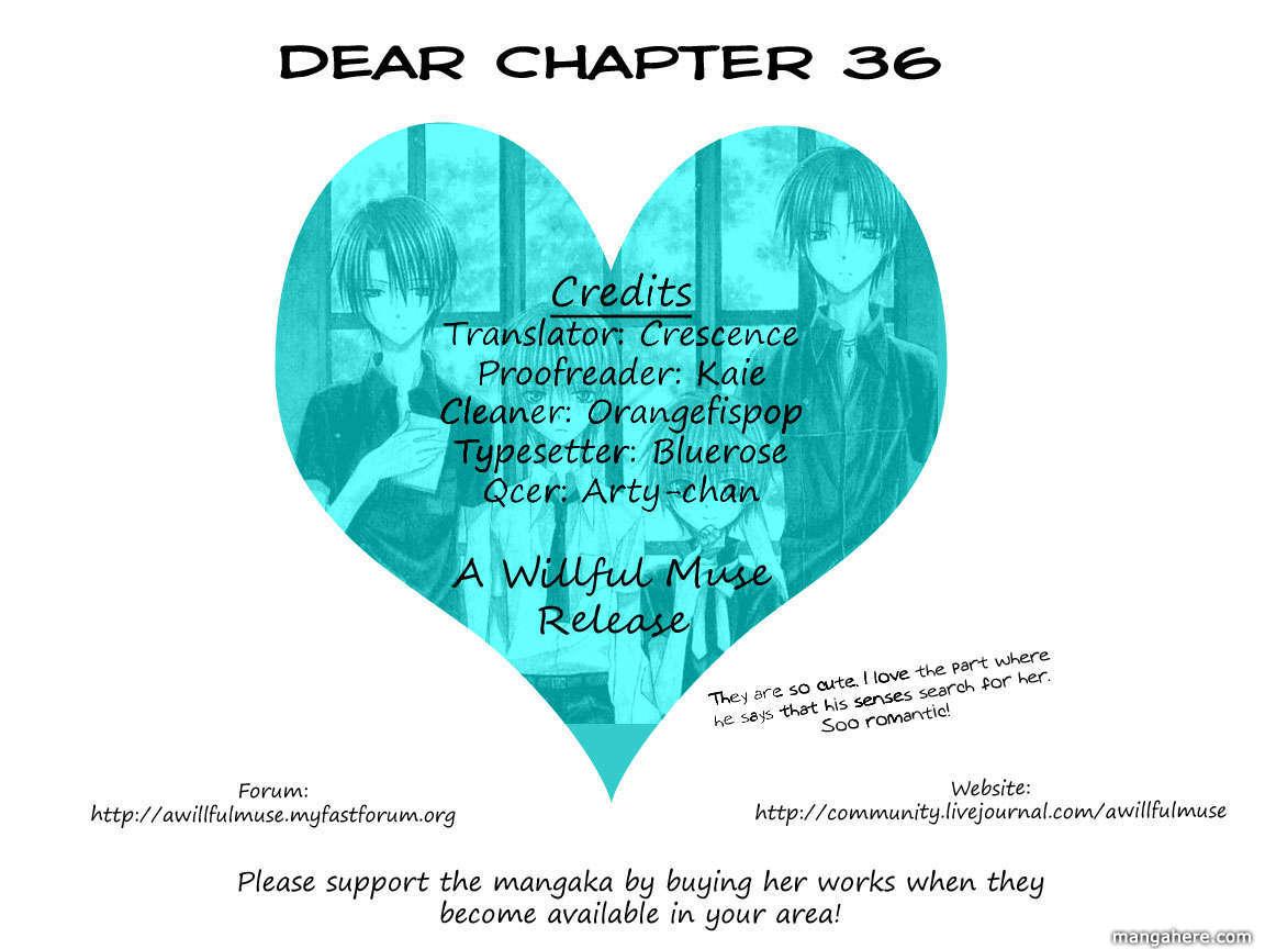 Dear 36 Page 1