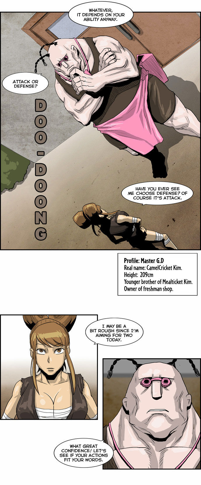 Special Martial Arts Extreme Hell Private High School 17 Page 4