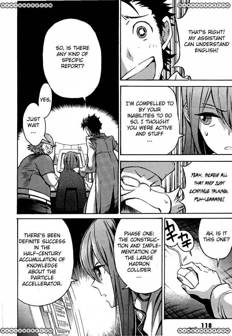 Steinsgate Shijou Saikyou No Slight Fever 6 Page 3