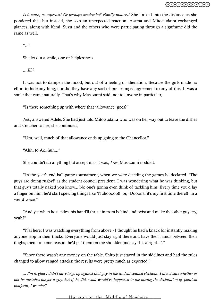 Kyoukai Senjou no Horizon 6.5 Page 3