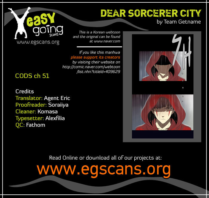 City of Dead Sorcerer 51 Page 1