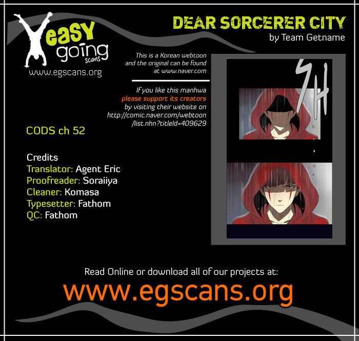 City of Dead Sorcerer 52 Page 1