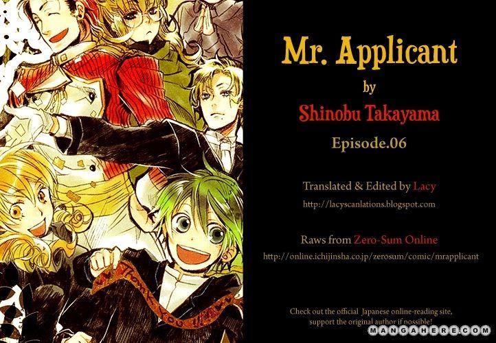Mr Applicant 6 Page 1