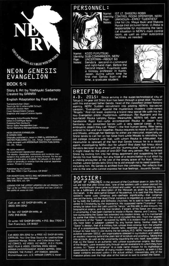 Neon Genesis Evangelion 30 Page 2