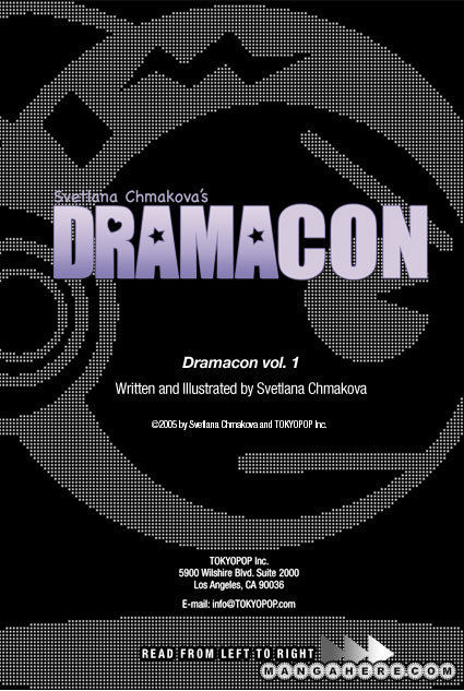 Dramacon 2 Page 1