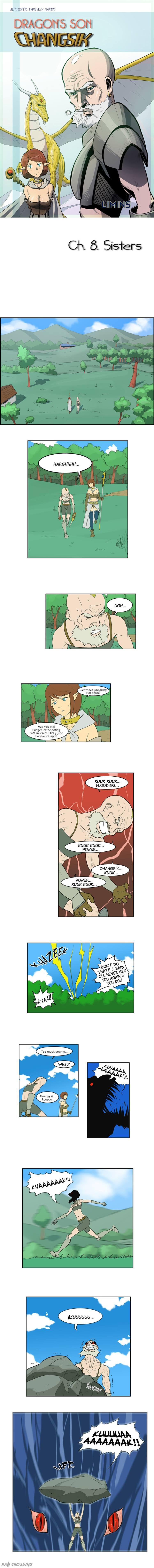 Dragon's Son Changsik 8 Page 1