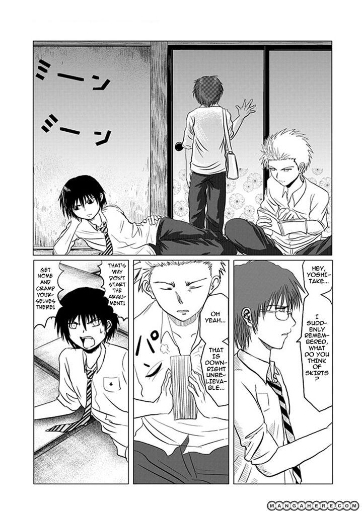 Danshi Koukousei no Nichijou 1 Page 3