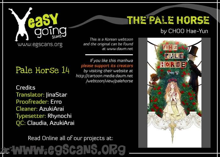 The Pale Horse 14 Page 1