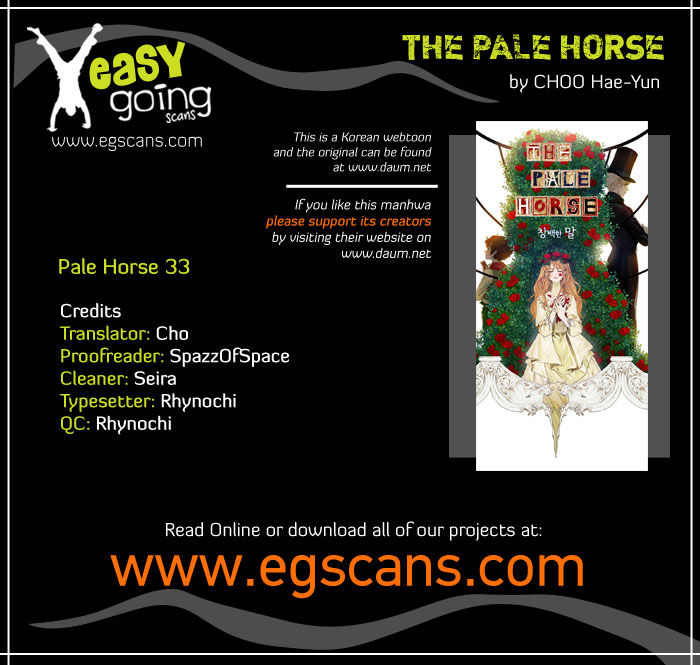 The Pale Horse 33 Page 1