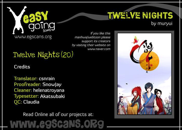Twelve Nights 20 Page 1
