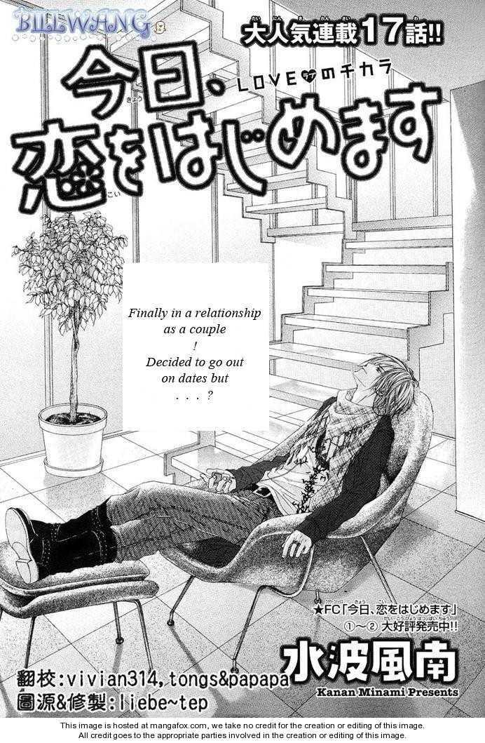 Kyou, Koi wo Hajimemasu 17 Page 2