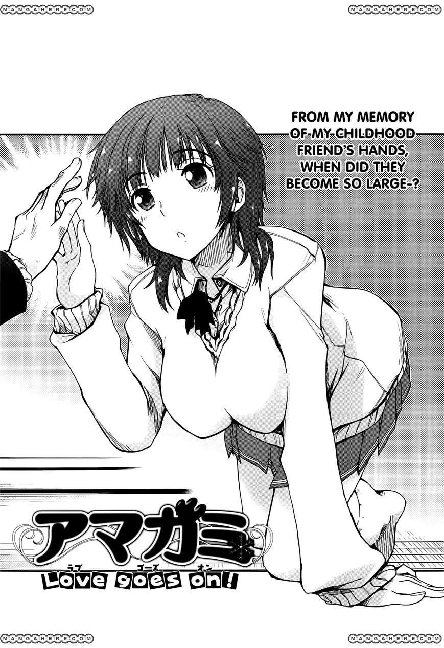 Amagami - Love Goes On! - Sakurai Rihoko Hen 3 Page 1