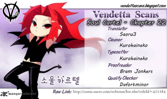 Soul Cartel 22 Page 1
