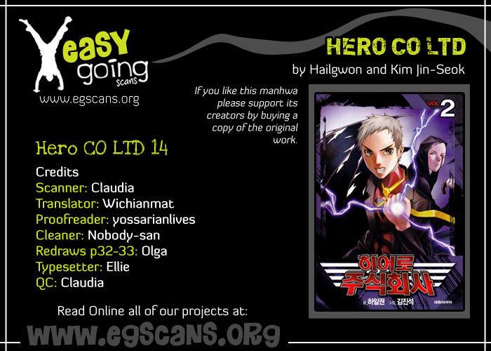 Hero Co., Ltd. 14 Page 1