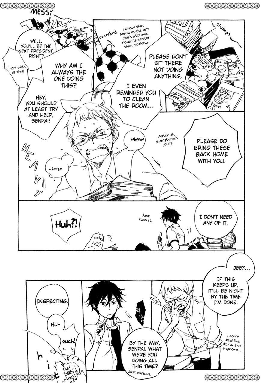 Yozora no Sumikko de, 4 Page 3