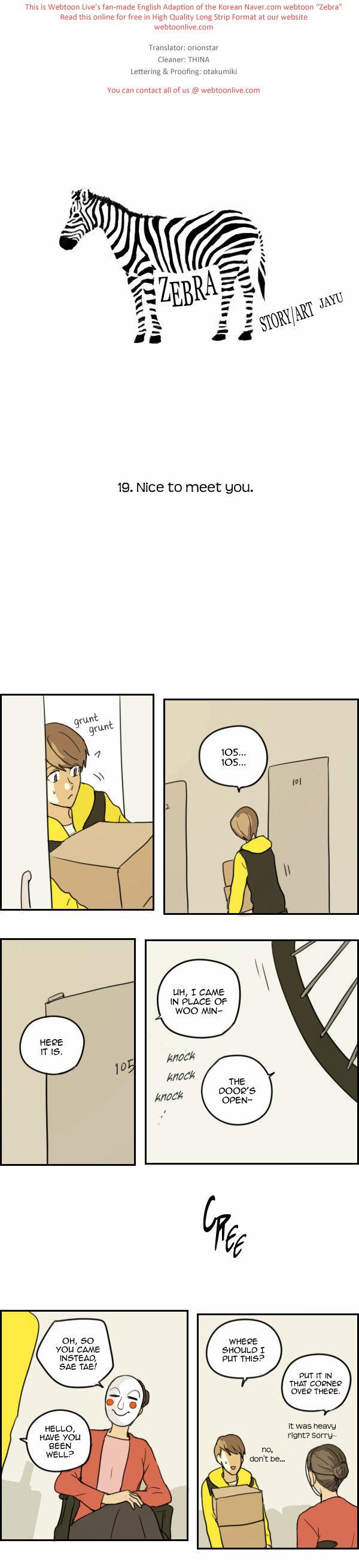 Zebra 19 Page 1