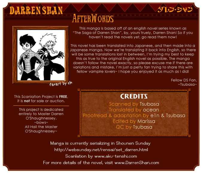 Darren Shan 2 Page 1