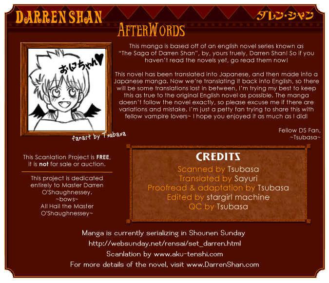 Darren Shan 3 Page 1