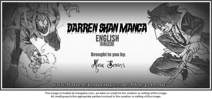 Darren Shan 62 Page 1