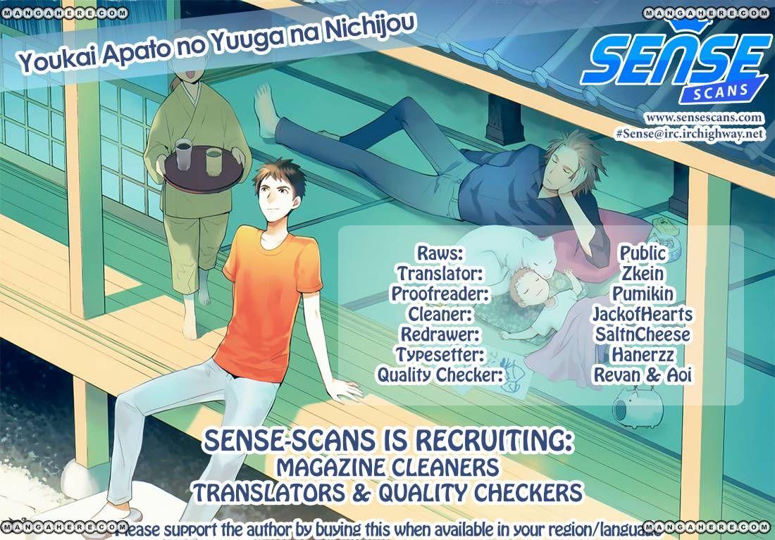 Youkai Apato no Yuuga na Nichijou 15 Page 1