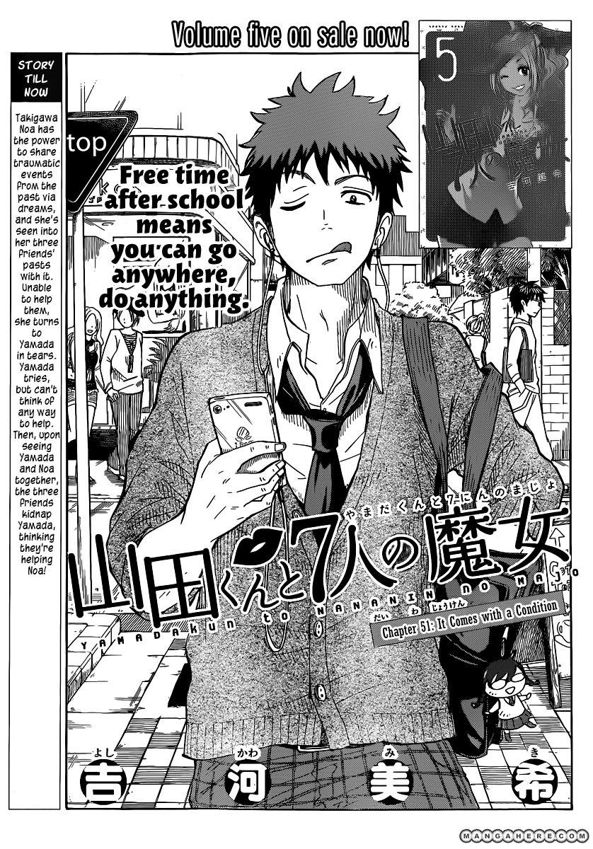Yamada-kun to 7-nin no Majo 51 Page 1