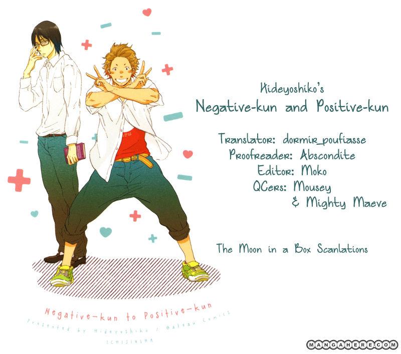 Negative-kun to Positive-kun 1 Page 1