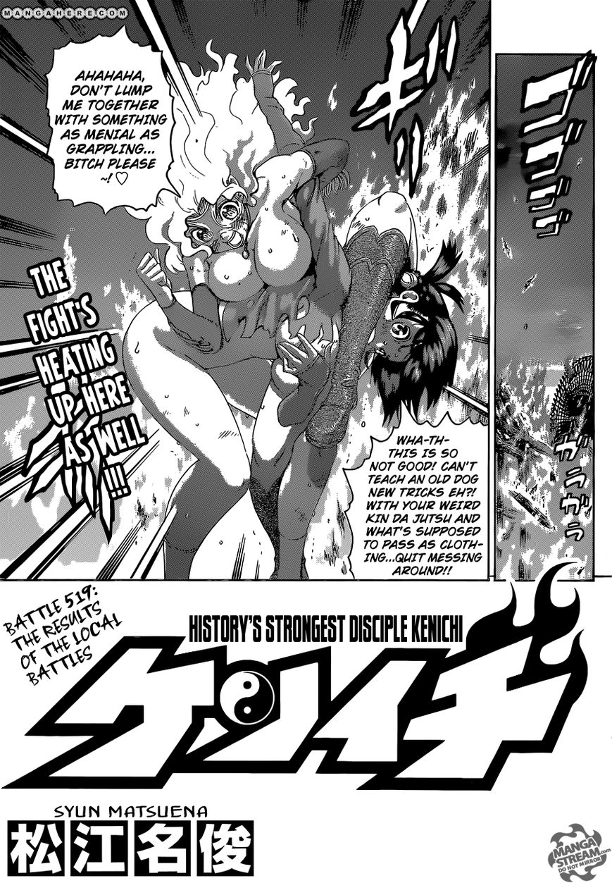 Historys Strongest Disciple Kenichi 519 Page 1