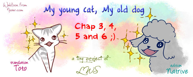 My Young Cat and My Old Dog 3 Page 1
