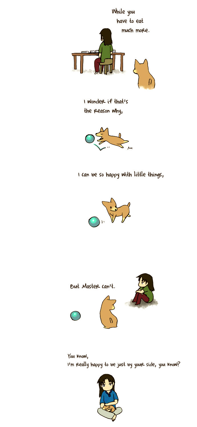 My Young Cat and My Old Dog 40 Page 2
