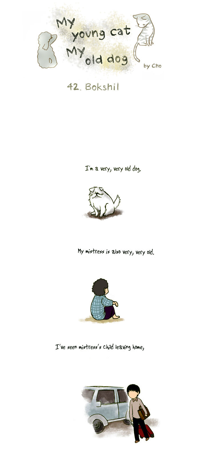 My Young Cat and My Old Dog 42 Page 1