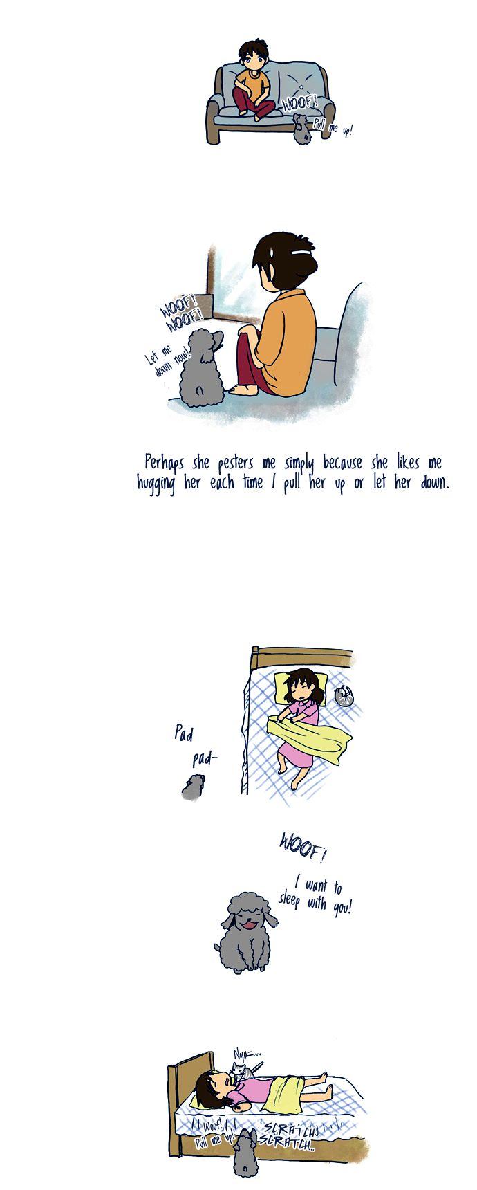 My Young Cat and My Old Dog 51 Page 2