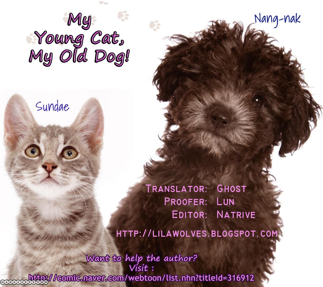 My Young Cat and My Old Dog 56 Page 3