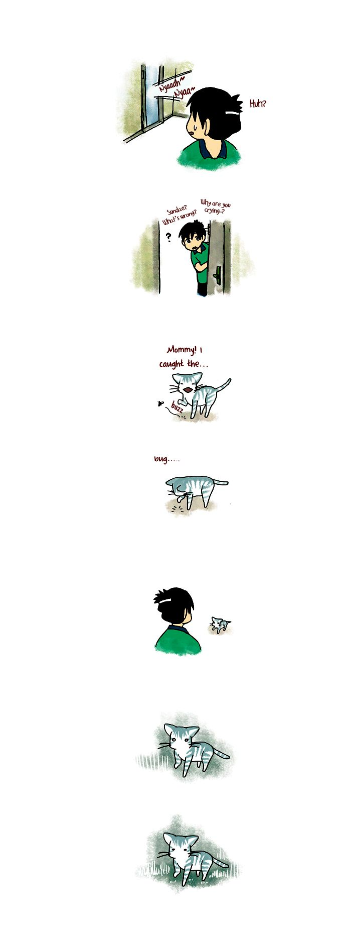 My Young Cat and My Old Dog 63 Page 2