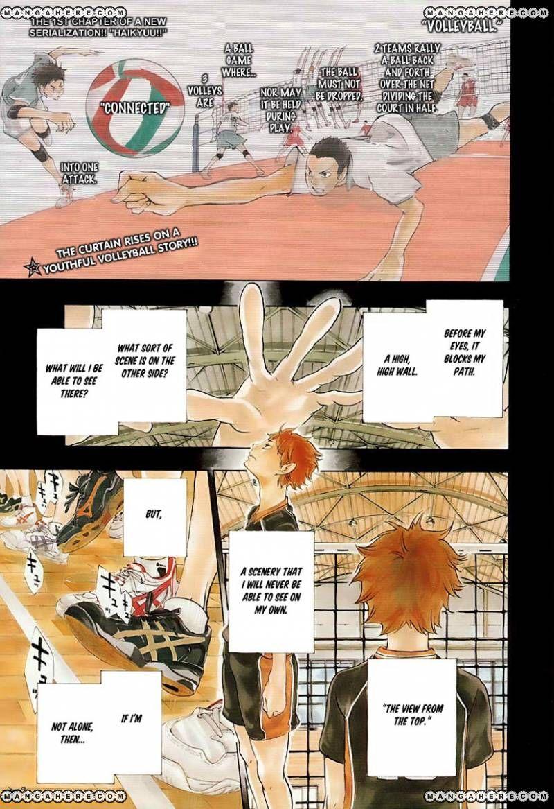 Haikyu!! 1 Page 3