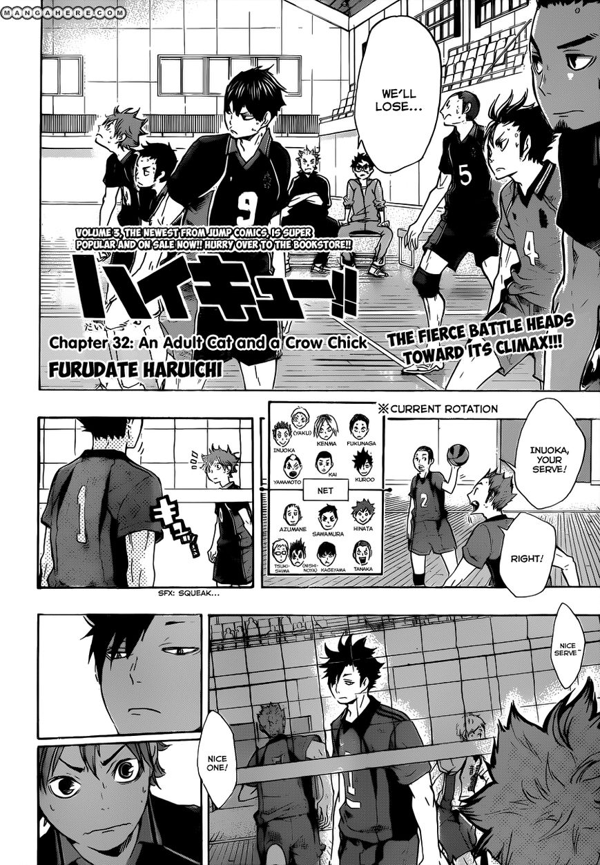 Haikyu!! 32 Page 4