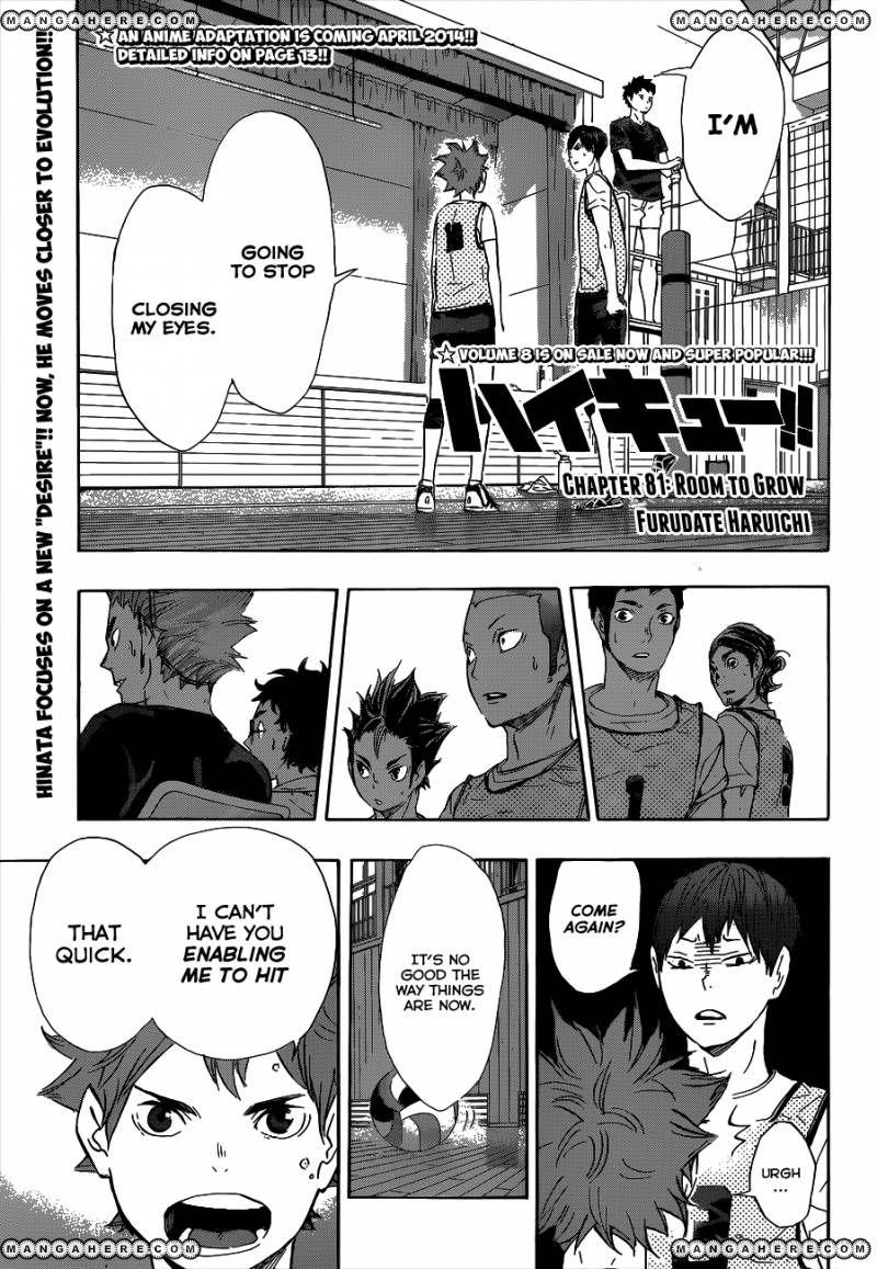 Haikyu!! 81 Page 2