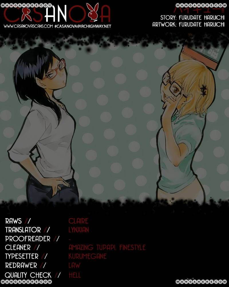 Haikyu!! 85 Page 1