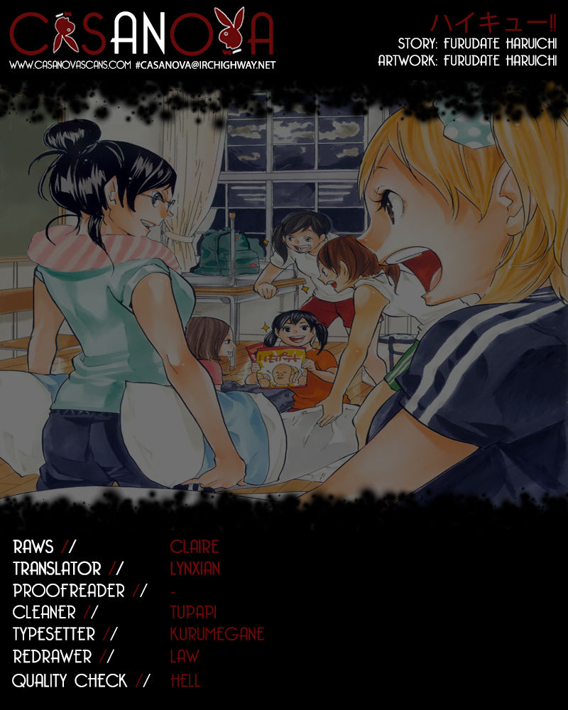 Haikyu!! 91 Page 1