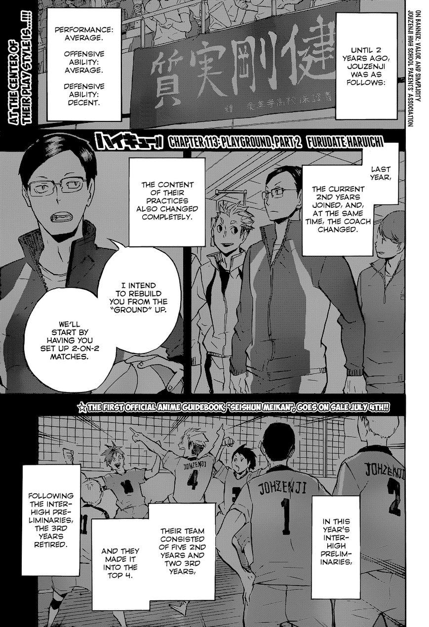 Haikyu!! 113 Page 2