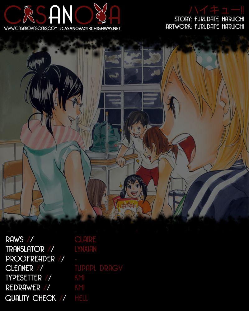 Haikyu!! 156 Page 1