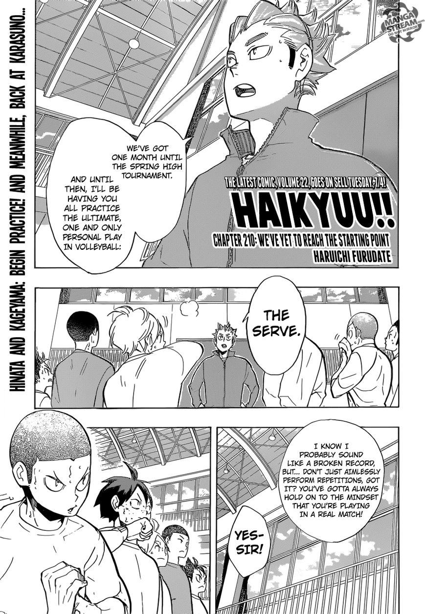 Haikyu!! 210 Page 1