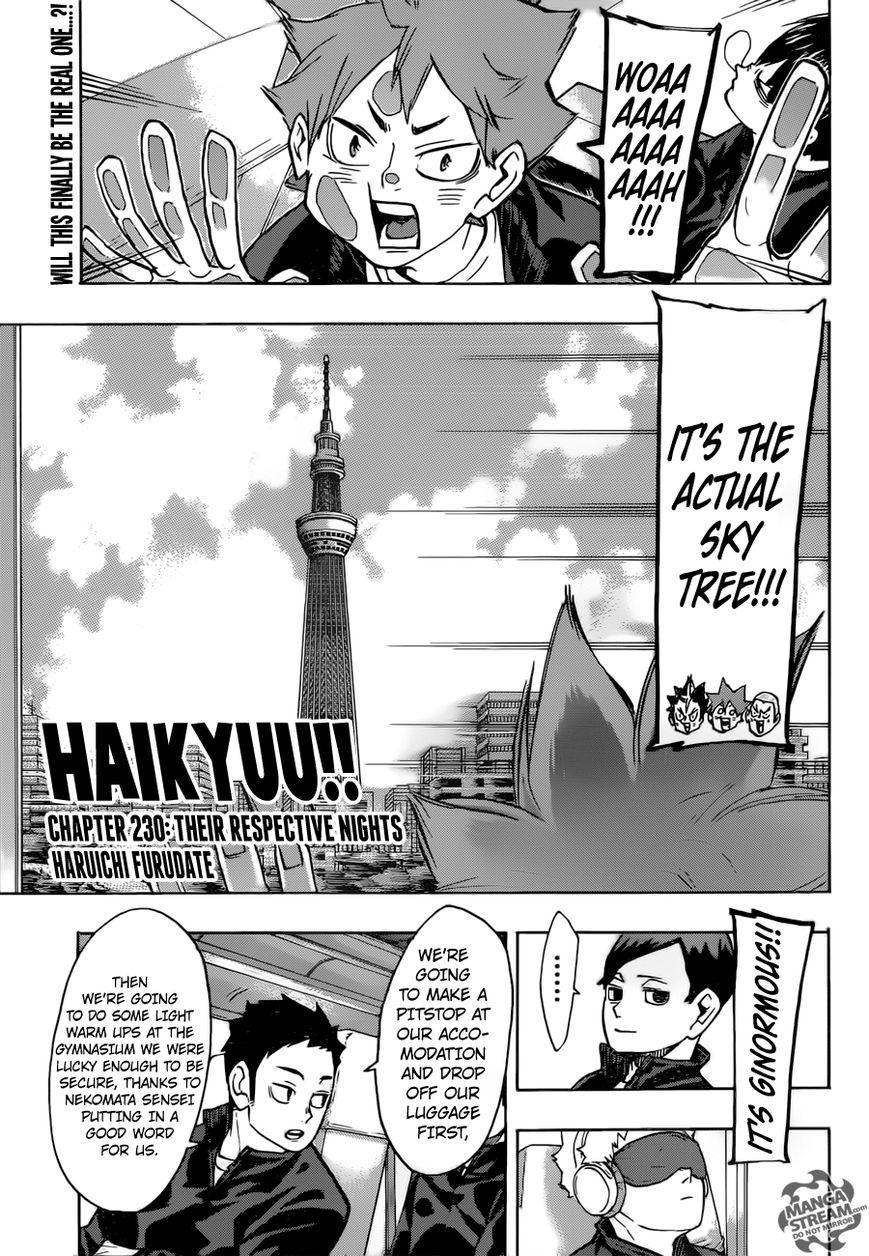 Haikyu!! 230 Page 2
