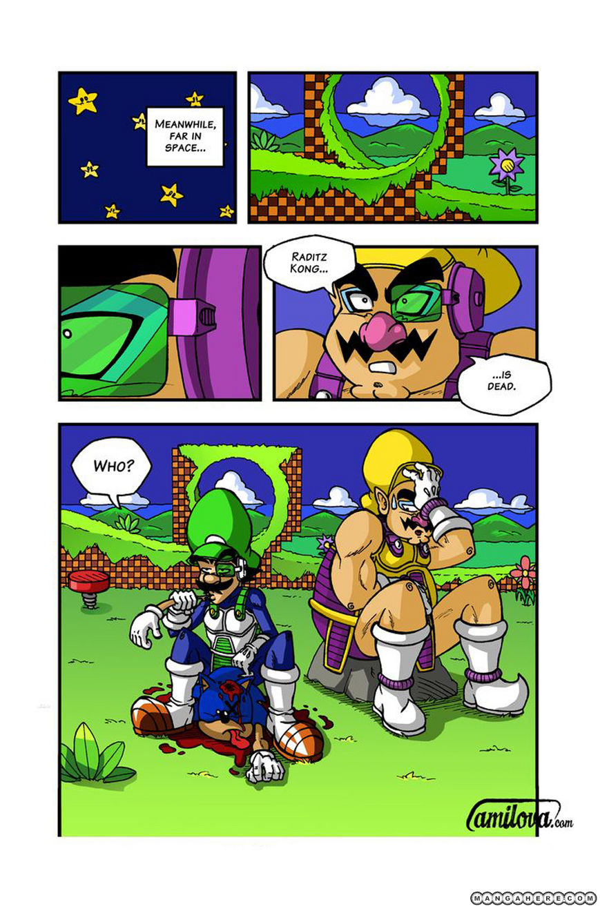 Super Dragon Bros Z 2 Page 1
