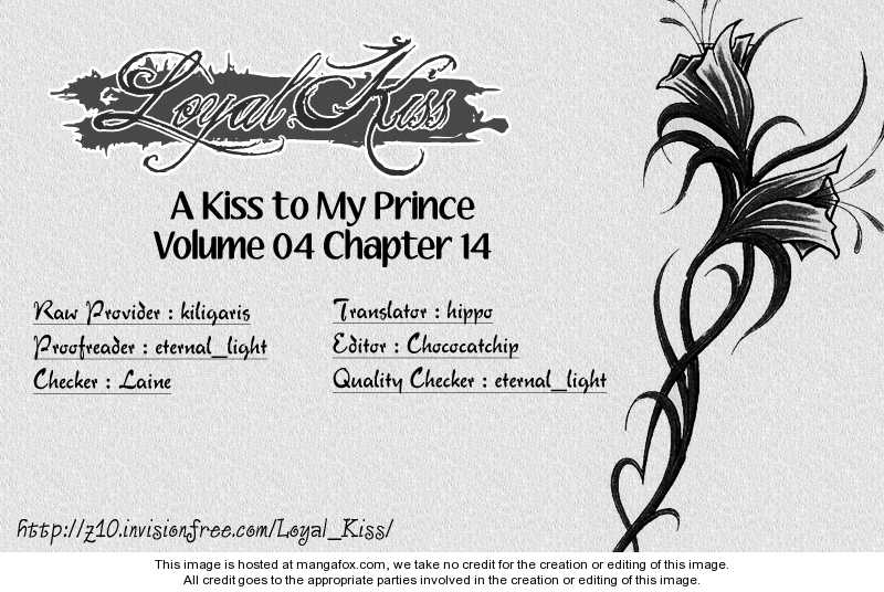 A Kiss To My Prince 14 Page 1