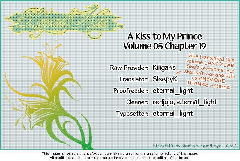 A Kiss To My Prince 19 Page 1