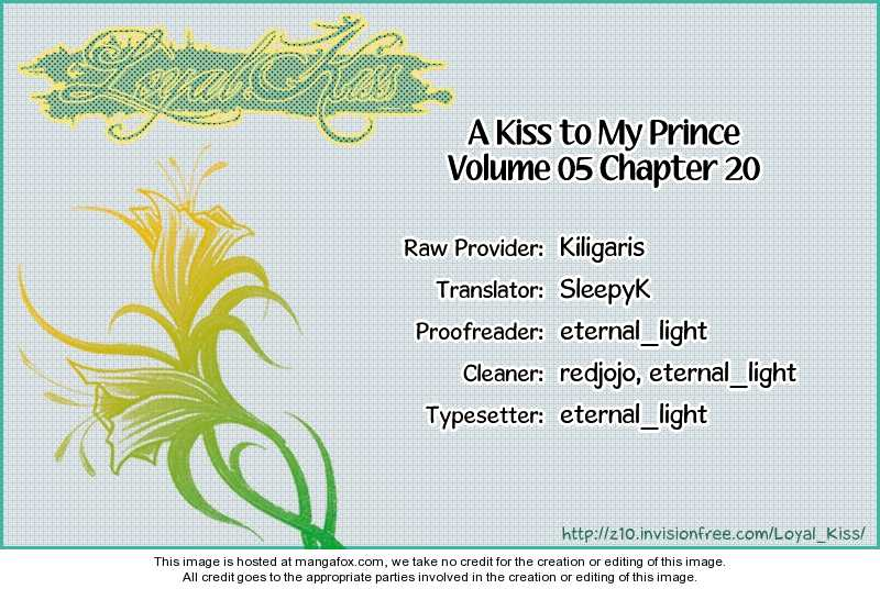 A Kiss To My Prince 20 Page 1
