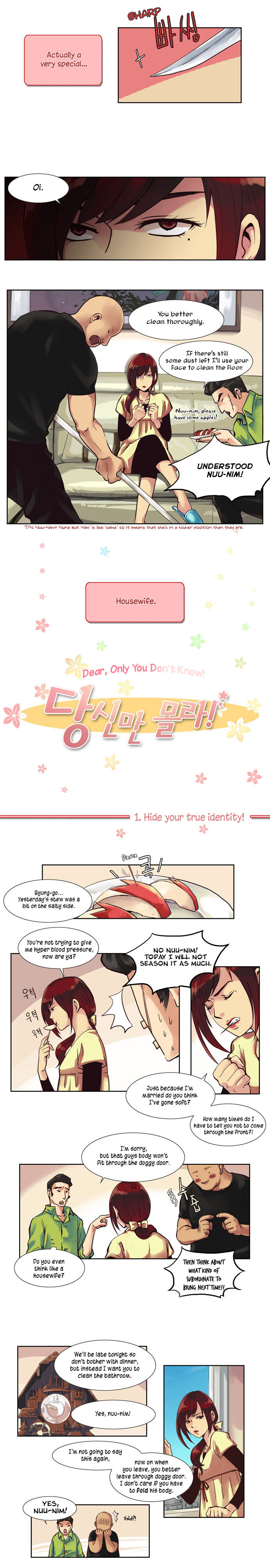 Dear, Only You Don't Know! 1 Page 2
